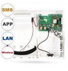 JA-107KRY Control panel with LAN, GSM and radio module (*New)