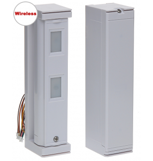 JA-187P dual zone outdoor wireless motion detector - curtain