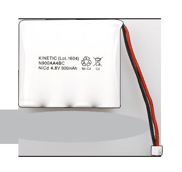 BAT-4V8-N900 NiCd battery 4.8 V/900 mAh