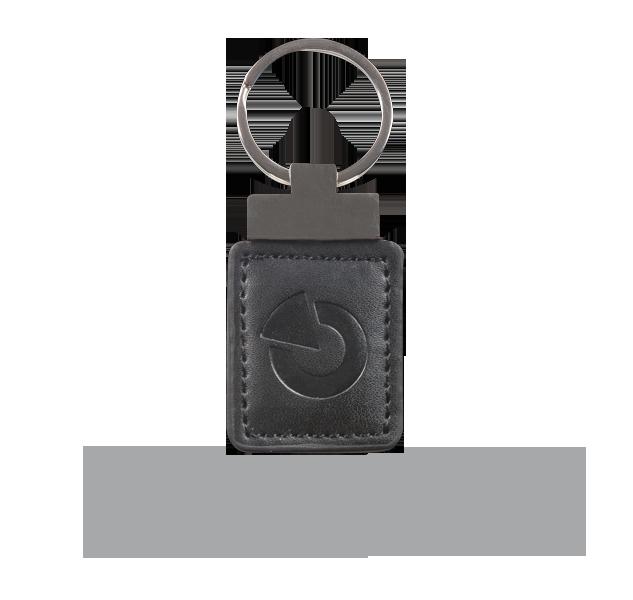 JA-194J-BK RFID leather tag - black