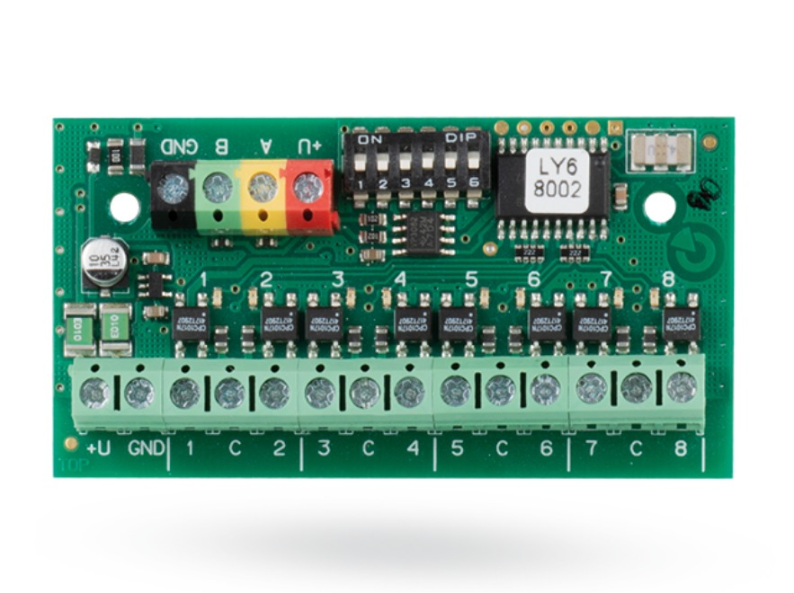 JB-118N Eight-channel bus output module