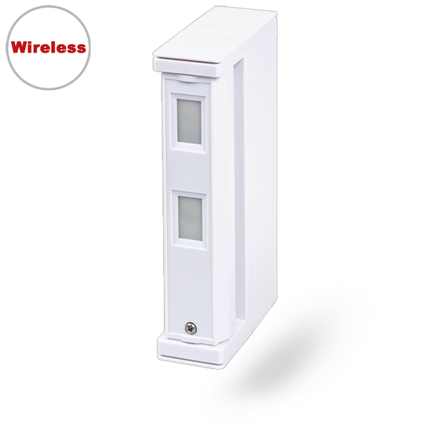 JA-157P Dual zone outdoor wireless motion detector - curtain