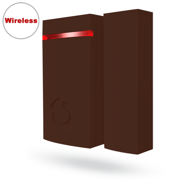 JA-151MB Mini wireless magnetic detector - brown