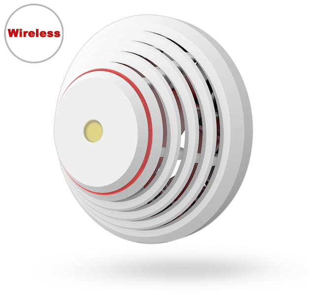 JA-185ST Wireless combined smoke and heat detector