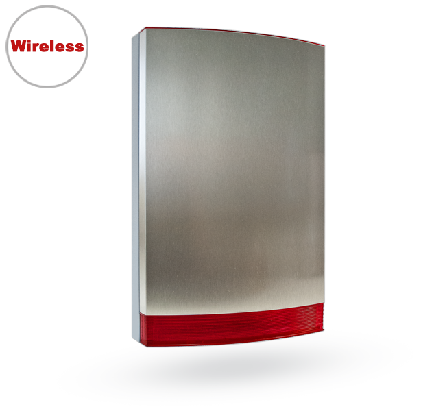 JA-163A-ST Wireless outdoor siren - Stainless Steel Cover