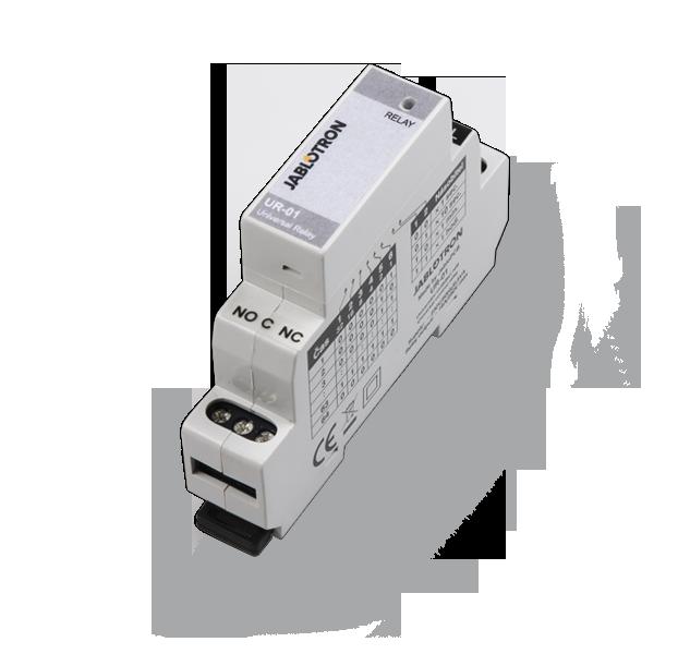 UR-01 Versatile DIN-rail mounted relay