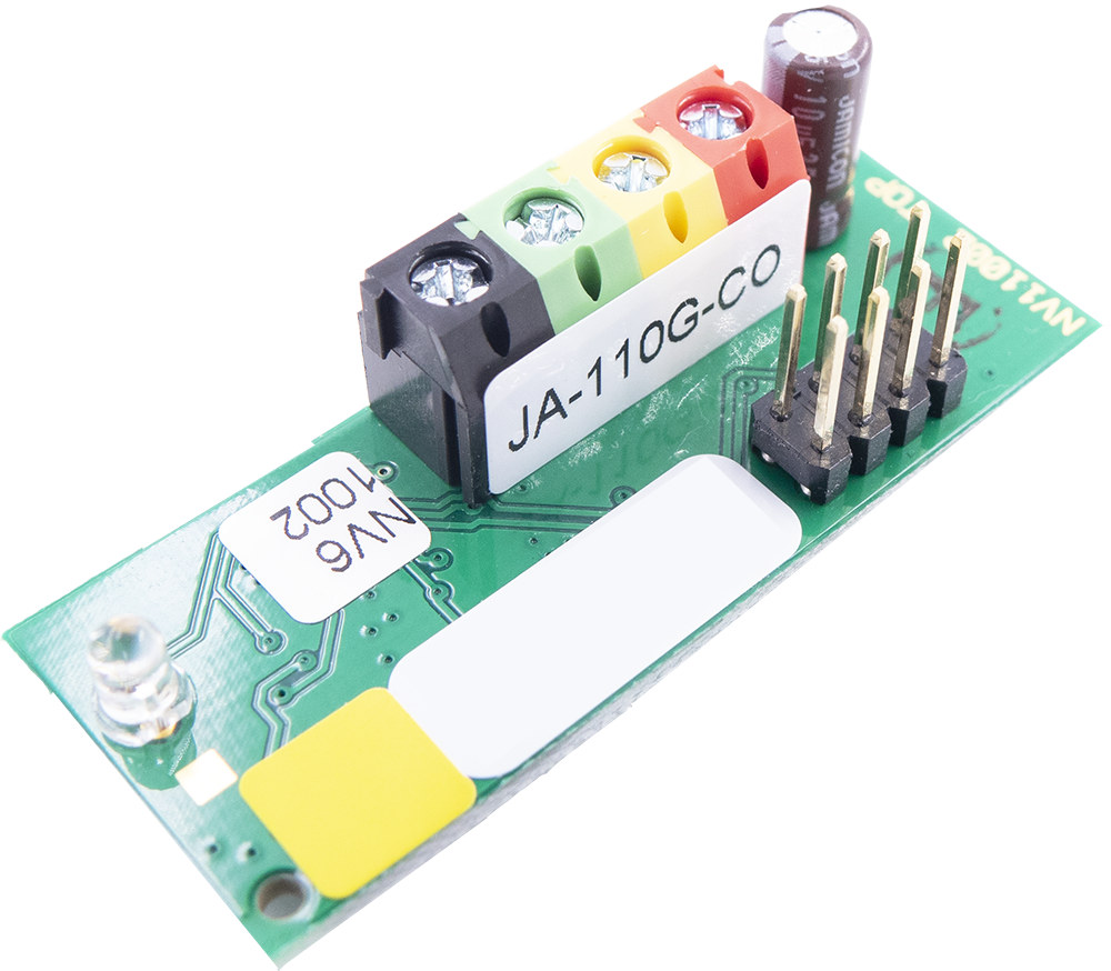 JA-110G-CO Bus module for connection of an Ei208W(D) CO detector