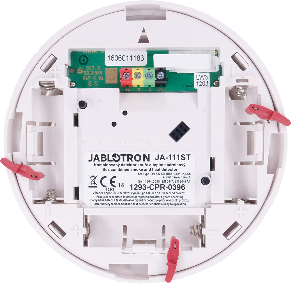 JA-111ST Bus combined smoke and heat detector