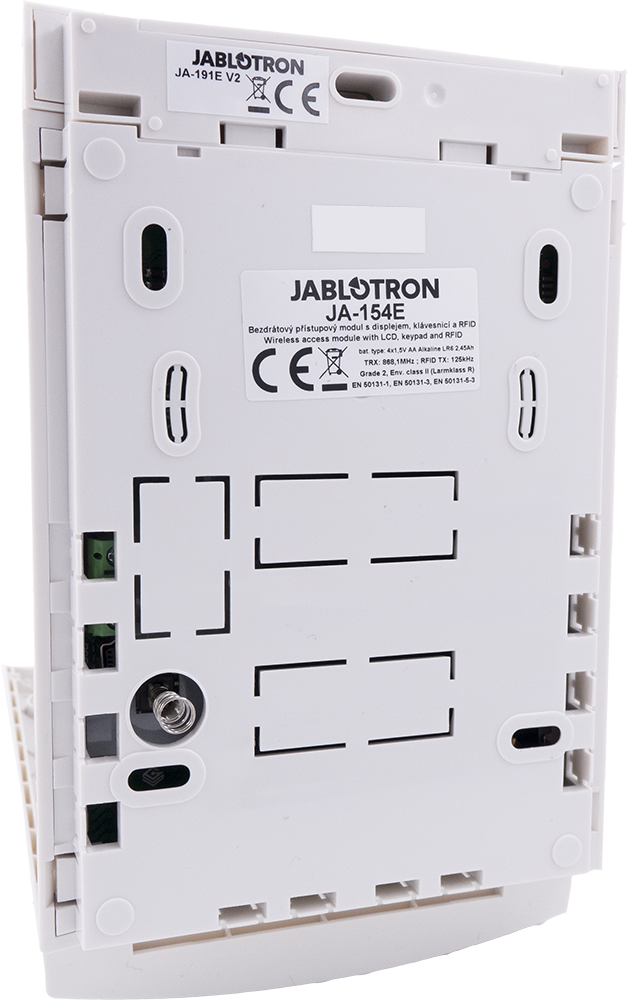JA-154E Wireless access module with display, keypad and RFID