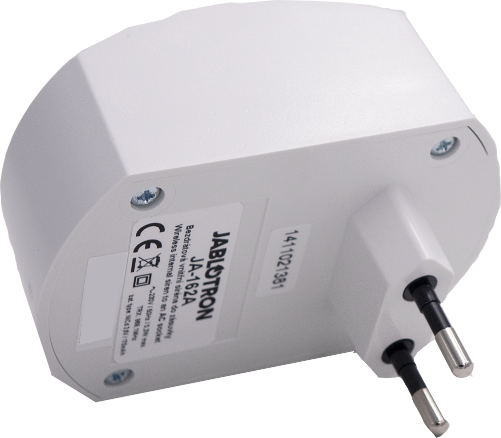 JA-162A Indoor wireless siren for electrical sockets